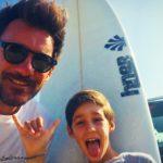 session surf père et fils