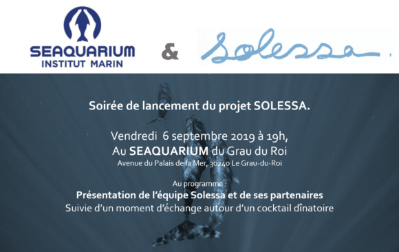 Lancement du projet SOLESSA au SEAQUARIUM